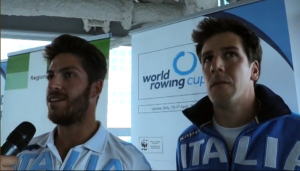 Marco Di Costanzo e Matteo Castaldo (Canottaggio)